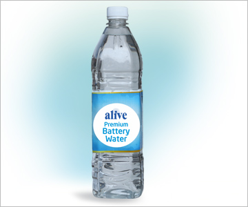 alive Premium Battery Water